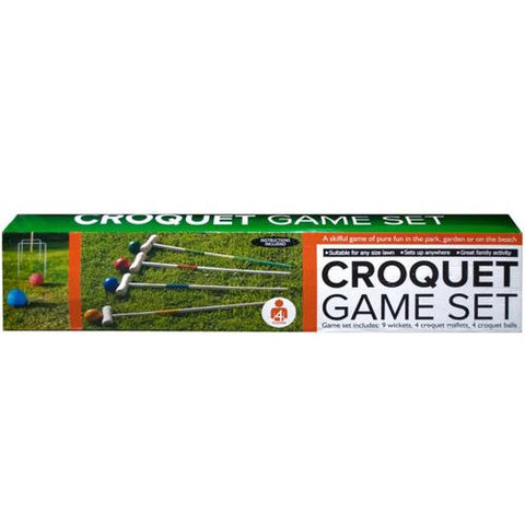 Wooden Croquet Game Set ( Case of 3 )