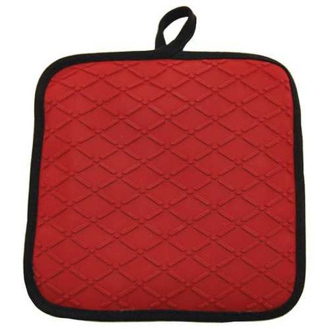 Starfrit 093610-006-0000 8 x 8 Silicone/Cotton Pot Holder/Trivet