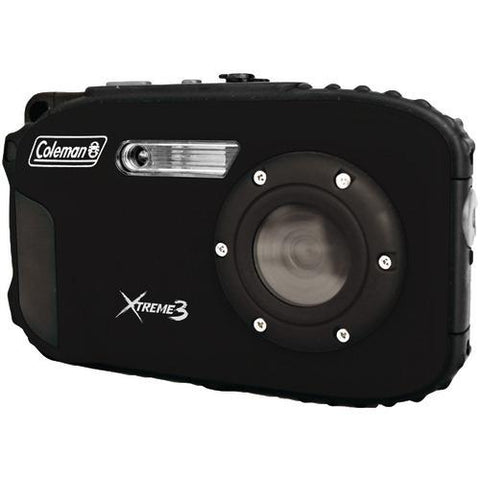 Coleman 20.0-megapixel Xtreme3 Hd Video Waterproof Digital Camera (black) (pack of 1 Ea)