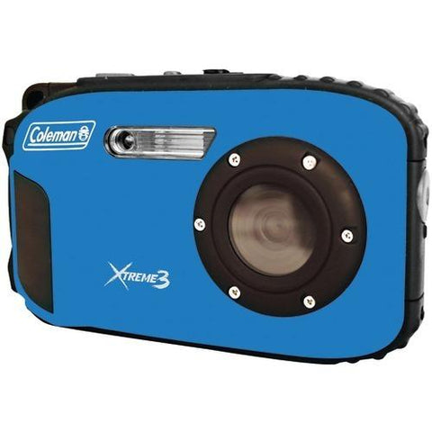 Coleman 20.0-megapixel Xtreme3 Hd Video Waterproof Digital Camera (blue) (pack of 1 Ea)