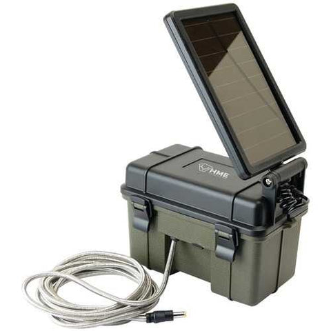 Hme 12-volt Battery Box With 2-watt Solar Panel (pack of 1 Ea)