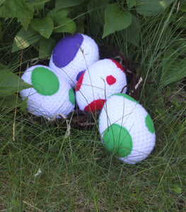 Yoshi Eggs (Super Mario Plush Toy)