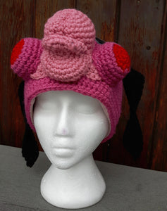 Cha Cha - Unbrella Academy Winter Hat. **Medium Adult size**