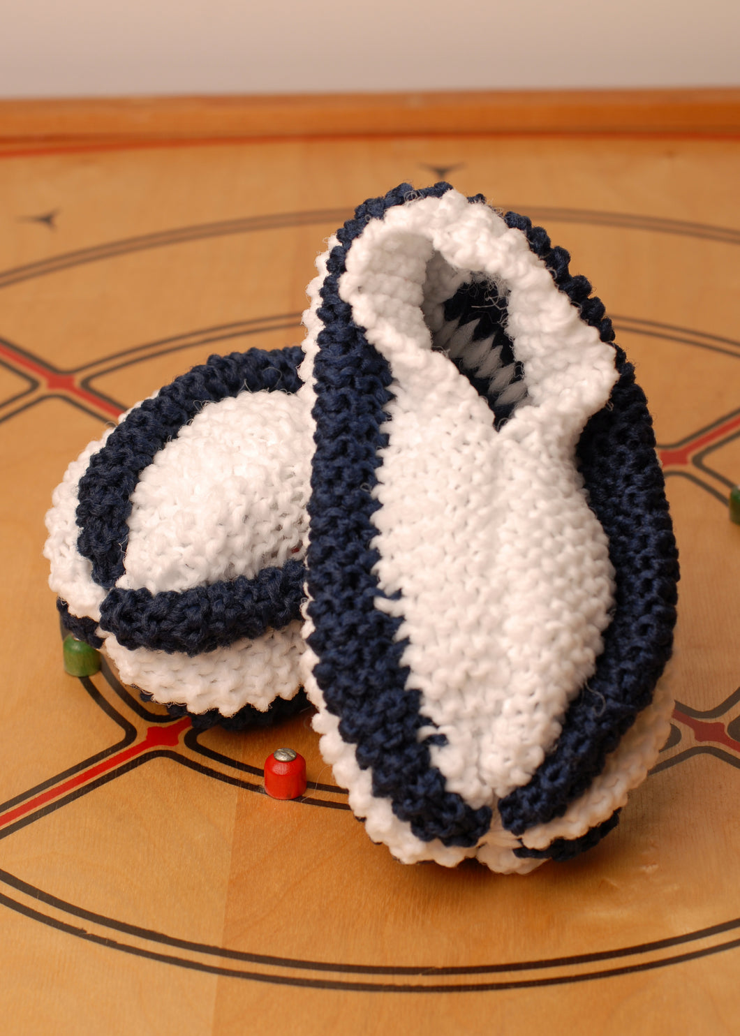 Nanny's Knitted Slippers