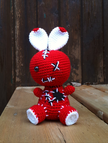 Voodoo Bunny Red/Black/White