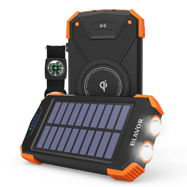 Wireless Solar Battery Pack