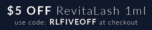 $5 off RevitaLash 1ml with code RLFIVEOFF