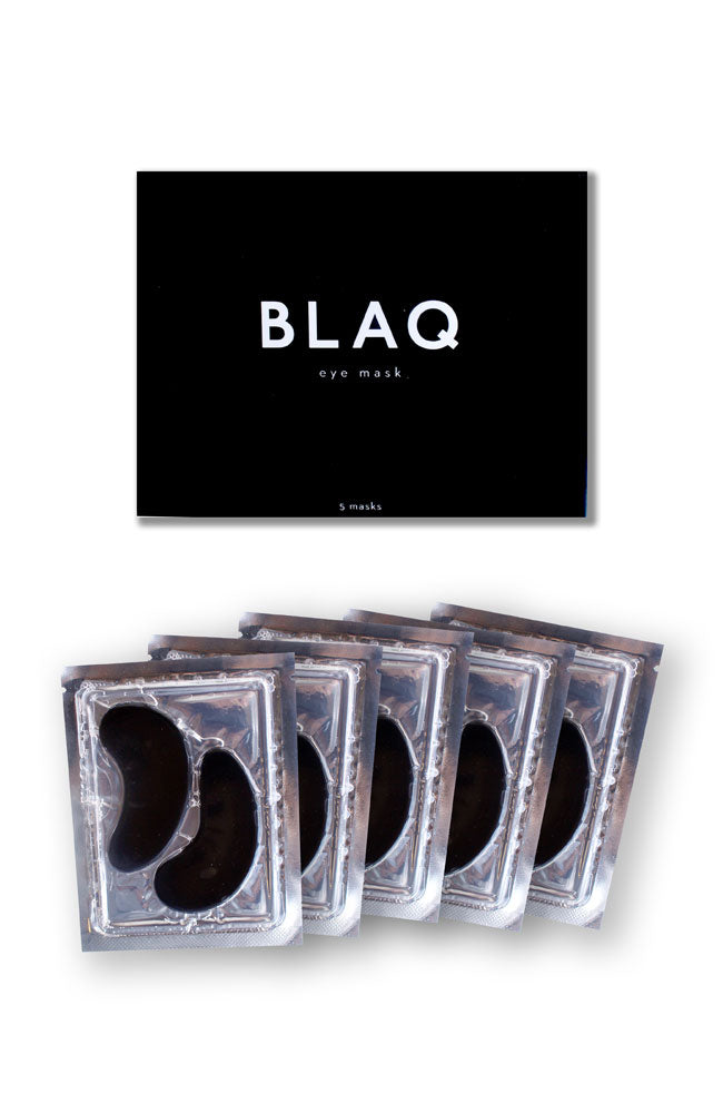 BLAQ hydrogel eye mask
