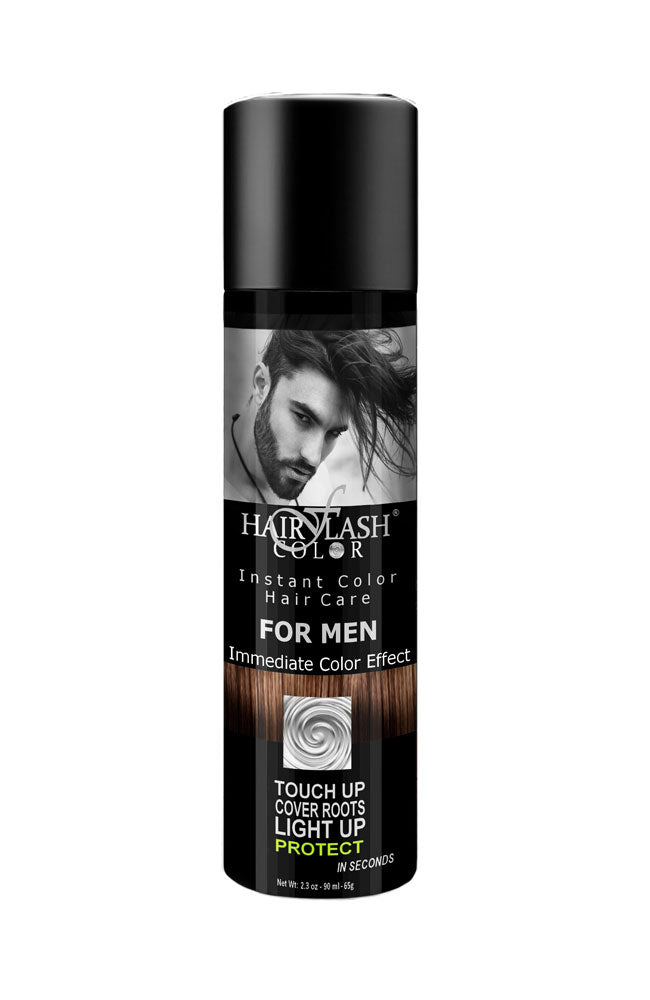 Hair Flash men's brown