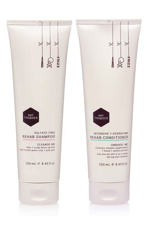 Hot Tresses rehab shampoo and rehab conditioner duo pack