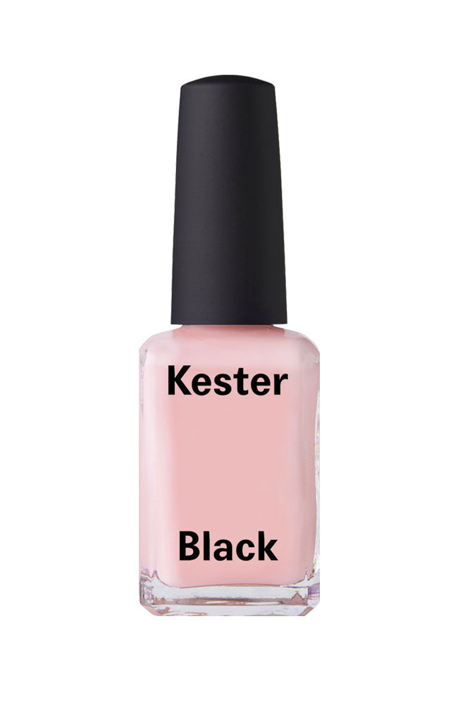 Kester Black nail polish Coral Blush