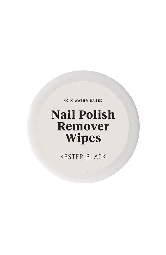 Kester Black nail polish remover wipes