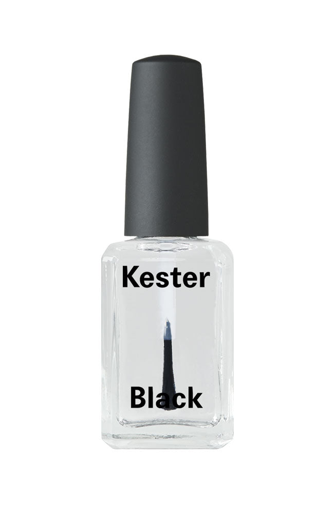 Kester Black nail polish Top Coat