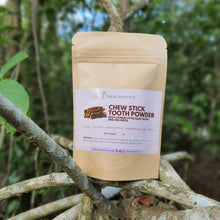 Chewstick Herbal Tooth Powder