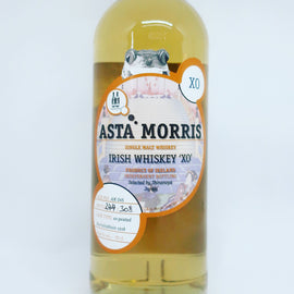 ASTA MORRIS FOR SHINANOYA IRISH SINGLE MALT XO, PEATED BUNNAHABHAIN CASK FINISH AM045, 59.8%
