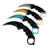 Fixed Combat Survival Claw Knife