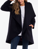Angus Coat - Navy
