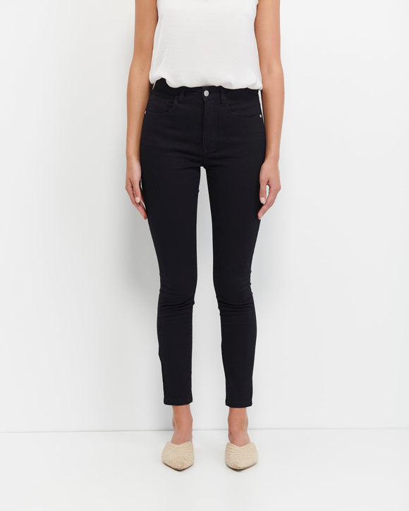 Audrey High Rise Jean - Black