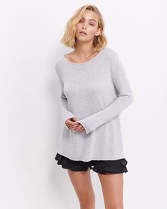 Aurora Cotton Knit - Grey