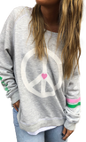 Grey Marle Peace Sign