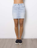 Capri Denim Skirt