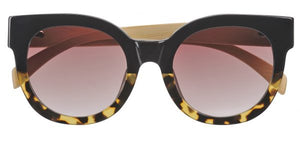 Coast Sunglasses - Black to Tortoise Gradient