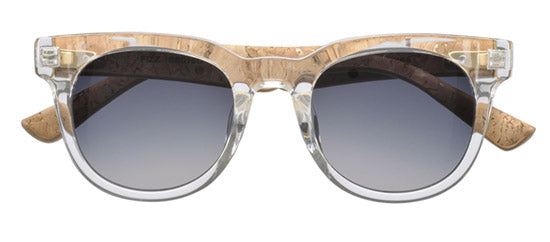 Fizz Sunglasses - Crystal Clear