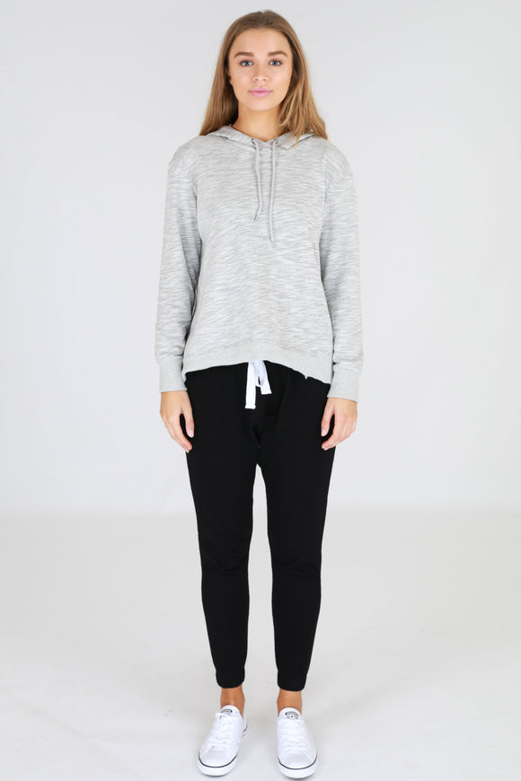 Kendall Sweater - Grey Marle