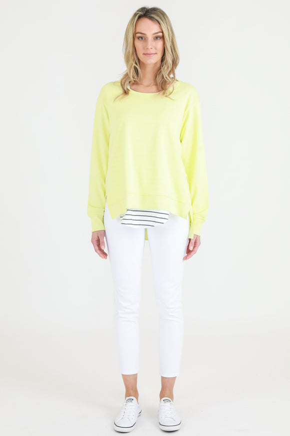 Ulverstone Sweater - Neon Lemon