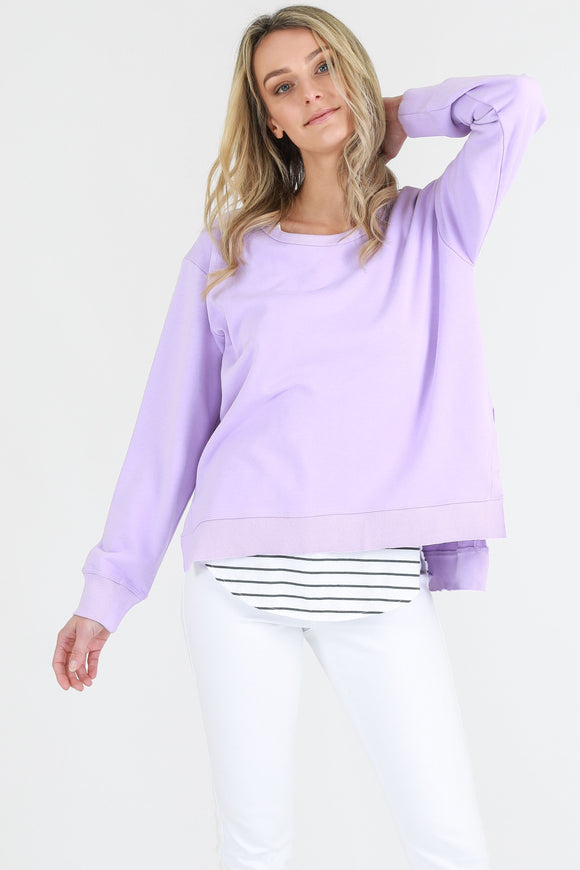 Ulverstone Sweater - Neon Lilac