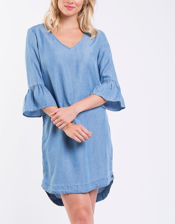 Mott Dress - Light Blue