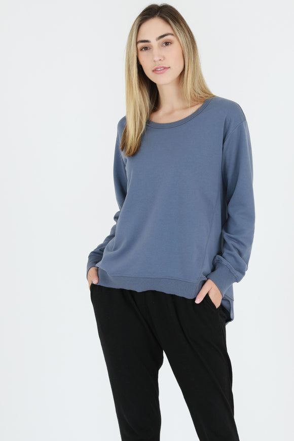 Newhaven Sweater - Bluestone