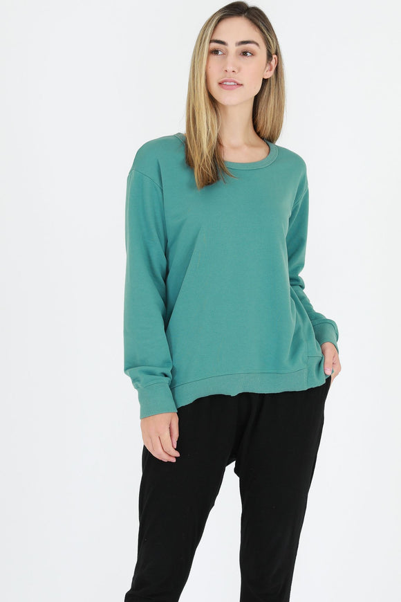 Newhaven Sweater - Sea Green