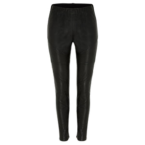 Royce Leather Pant - Jet Black