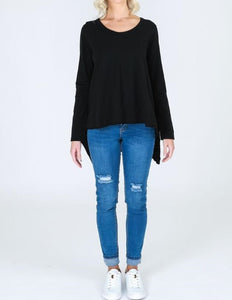 Willow Tee - Black