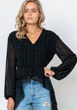 Affair Blouse - Black