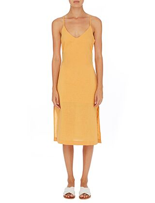 Albion Linen Cami Dress - Golden Glow