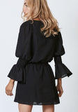 Flourish Dress - Black