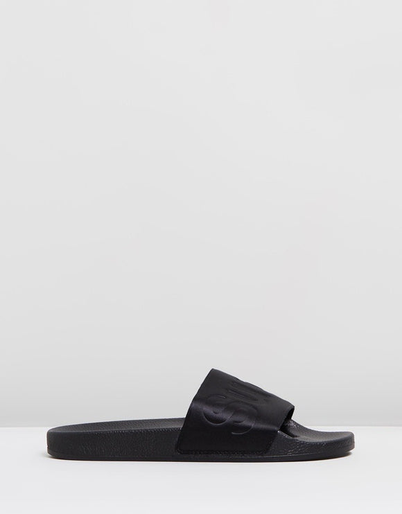 Satin Slides - Black