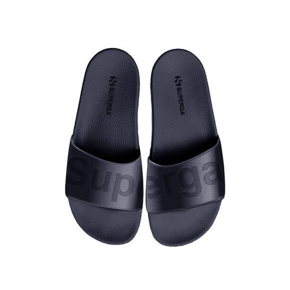 Satin Slides - Blue