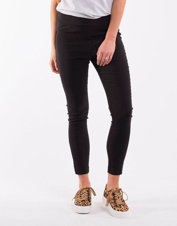 Leah Jegging - Washed Black