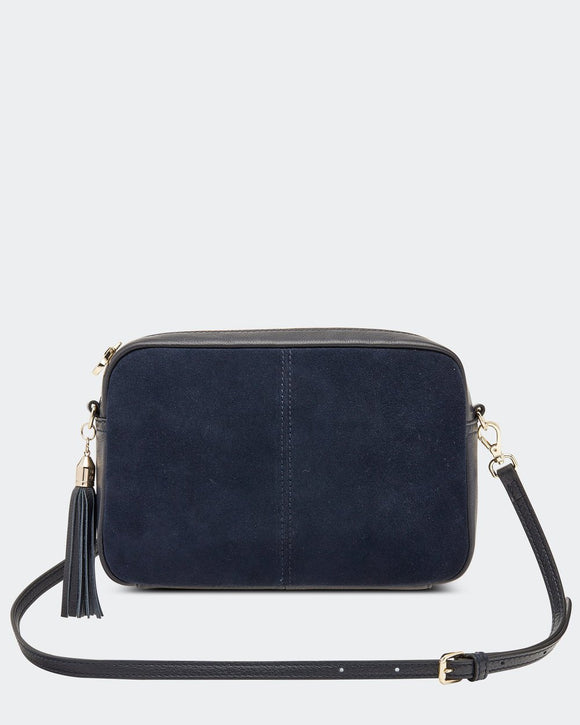 Holly Suede Bag Navy