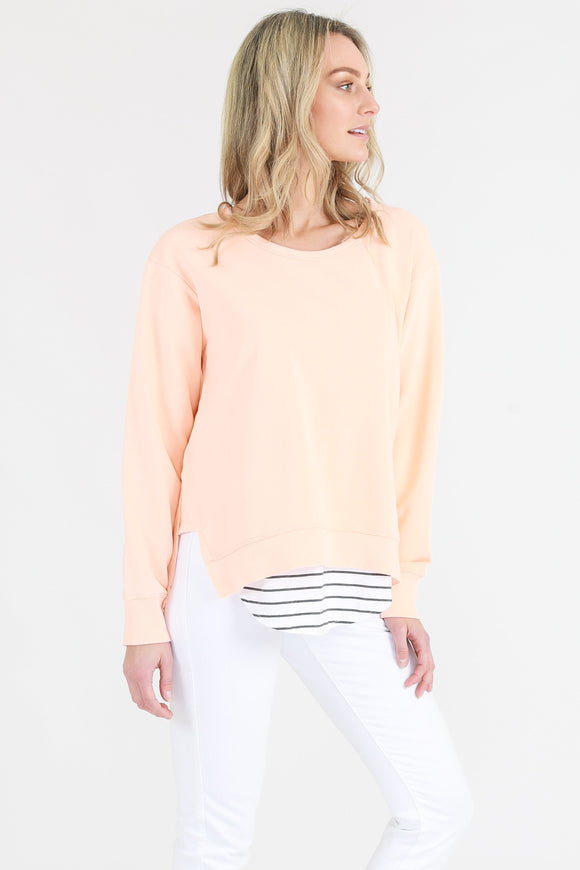Ulverstone Sweater - Neon Papaya