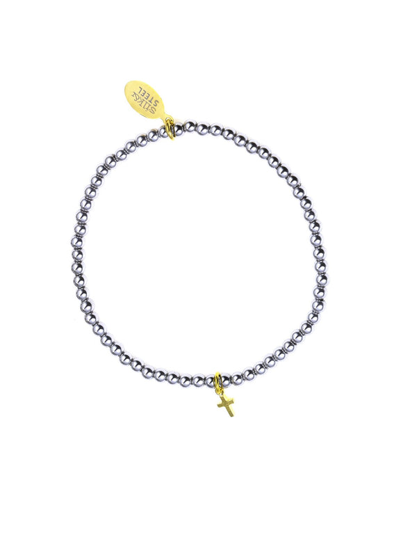 Peace Of Mind Bracelet - Silver & Gold