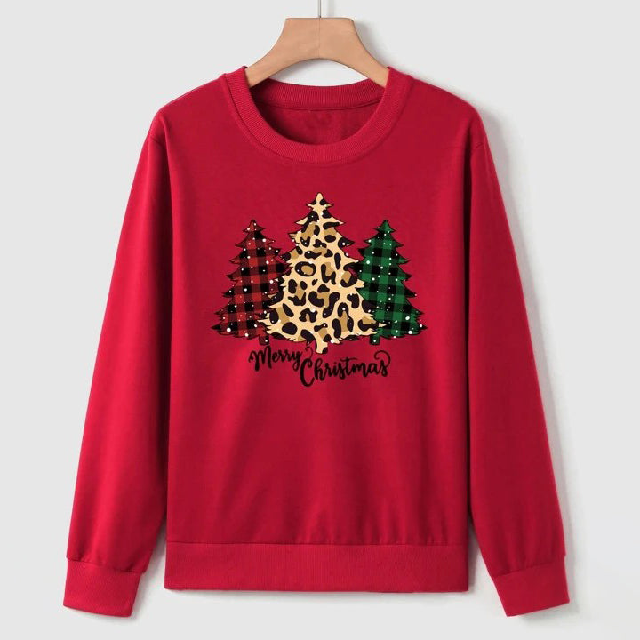 Christmas & Slogan Graphic Sweatshirt