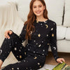 Star Print PJ Set Two-Piece