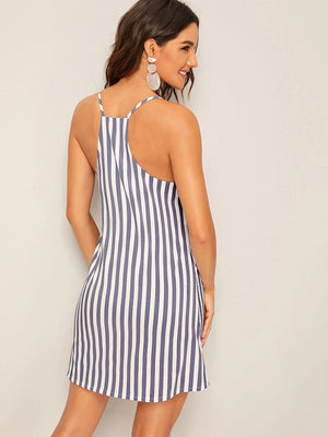 Striped Cami Dress