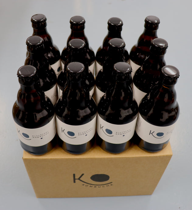 Organic KO Kombucha Blueberry 12 Case