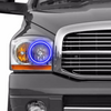 DODGE RAM (2006-2008):  FITTED HALOS (RGB)