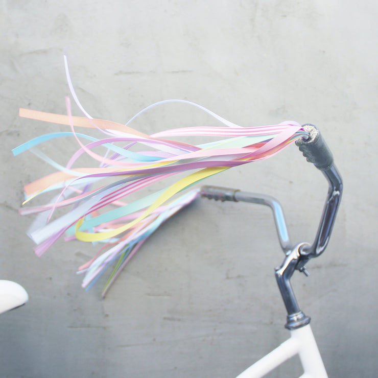 Pastel Bike Streamers